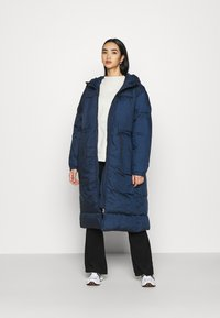 Weekday - ALLY LONG PUFFER - Winter coat - navy - 1