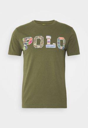 T-shirts print - dark sage