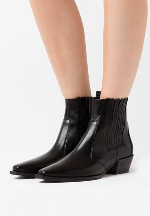 MARY - Cowboy/biker ankle boot - schwarz