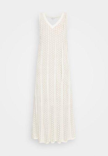 LARA - Abito in maglia - off white