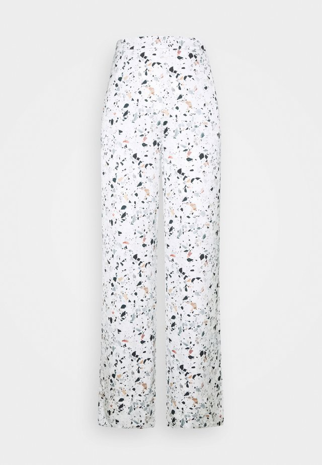 EMMY WIDE PANTS - Trousers - multi-coloured
