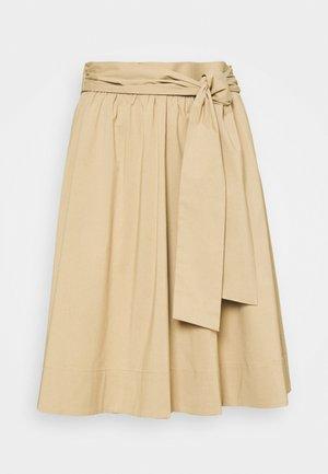 BENITA SKIRT - A-line skirt - desert