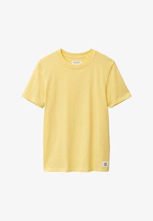 Jednoduché triko - lemon cream