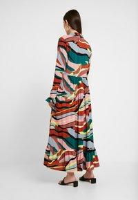 YAS - YASSAVANNA DRESS - Denní šaty - marsala/multi - 3