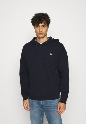 HOODIE CREW NECK - Sweat à capuche - dark blue