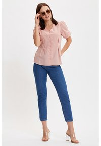 DeFacto - Button-down blouse - pink - 1