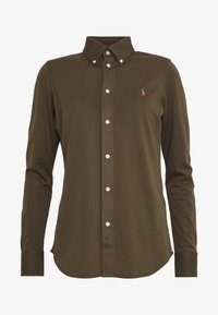 Polo Ralph Lauren - HEIDI LONG SLEEVE - Button-down blouse - defender green - 4