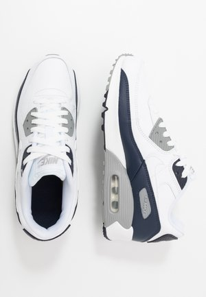 AIR MAX 90 UNISEX - Baskets basses - white/particle grey/obsidian