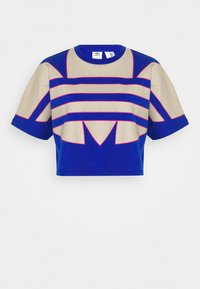 adidas Originals - BIG TEE - Print T-shirt - team royal blue - 4