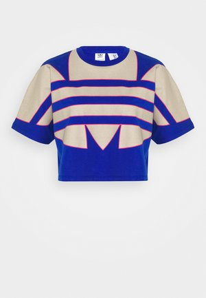 BIG TEE - T-shirt med print - team royal blue