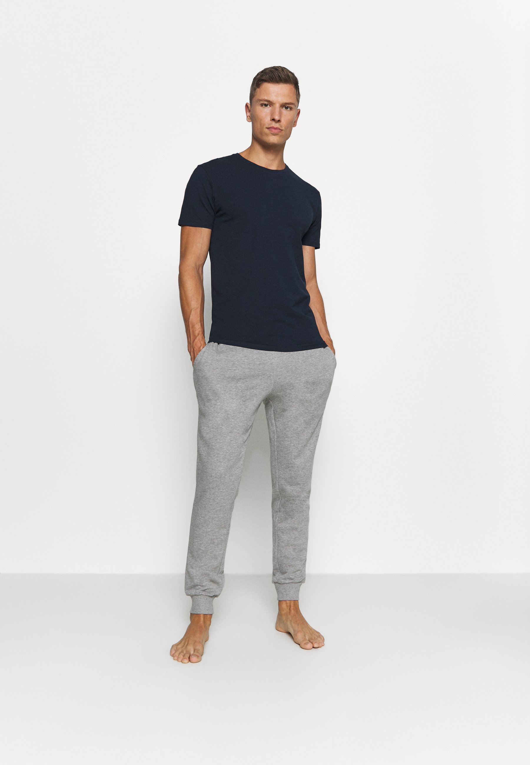 Men SLHNEWPIMA O NECK TEE 3 PACK  - Basic T-shirt