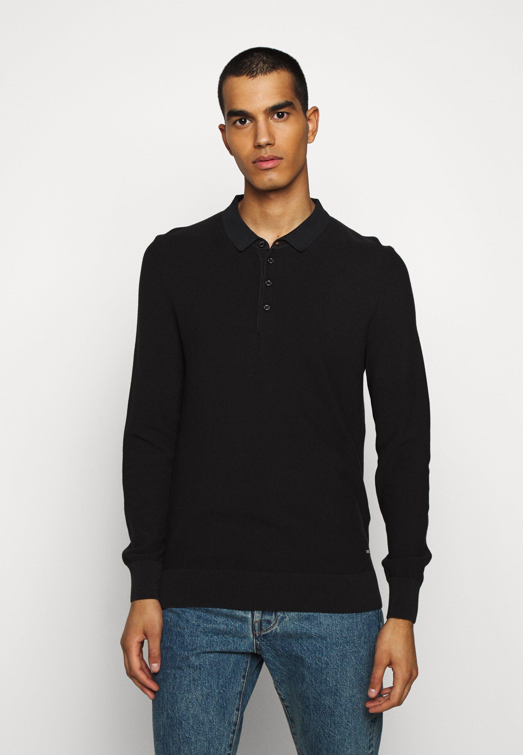 GANT PLUS THE ORIGINAL RUGGER - Poloskjorter - black