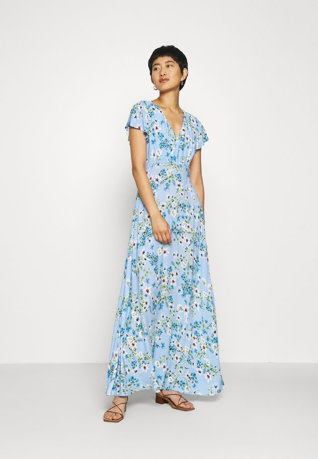 SPLIT - Maxi dress - light blue romantic