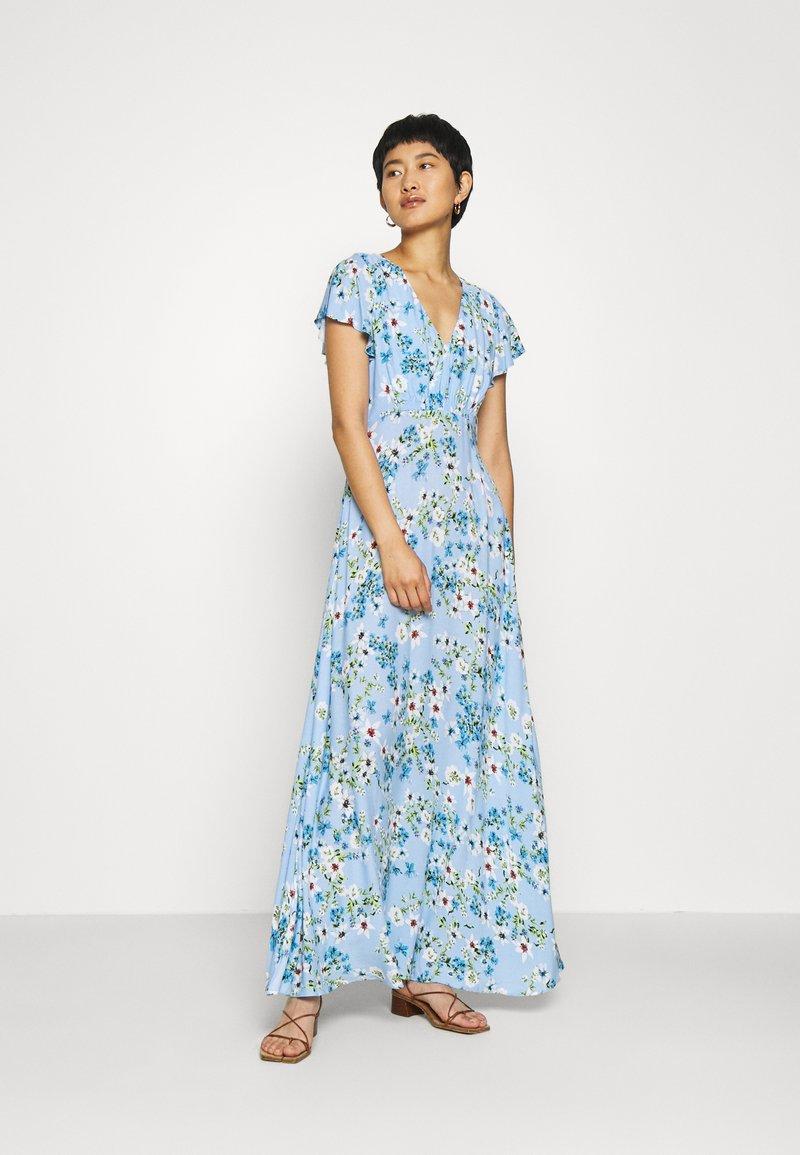Banana Republic - SPLIT - Maxi dress - light blue romantic