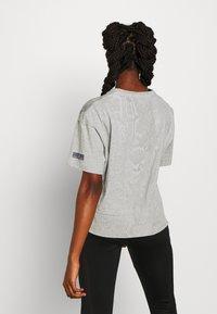 adidas by Stella McCartney - GRAPHIC TEE - Print T-shirt - grey - 2