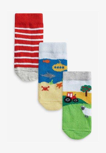 3 PACK - Socks - multi-coloured