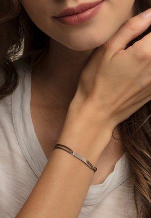 LITTLE SECRET - Bracelet - silver-coloured/ green