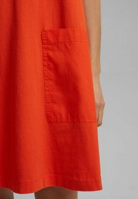 Esprit - DRESS - Jersey dress - orange red - 4