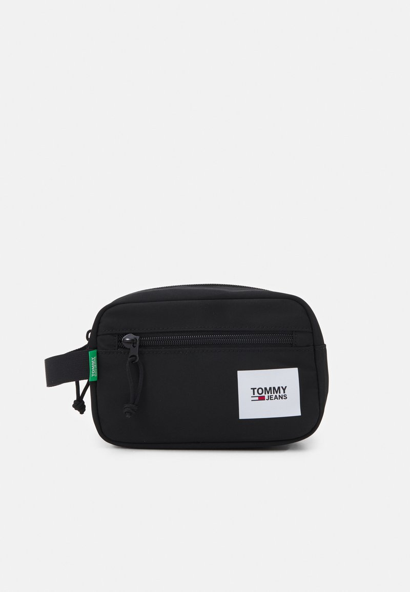 Tommy Jeans - URBAN WASHBAG UNISEX - Kosmetická taška - black