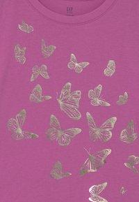 GAP - Print T-shirt - budding lilac - 2