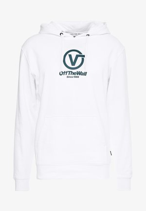 DISTORTED PERFORMANCE  - Hoodie - white