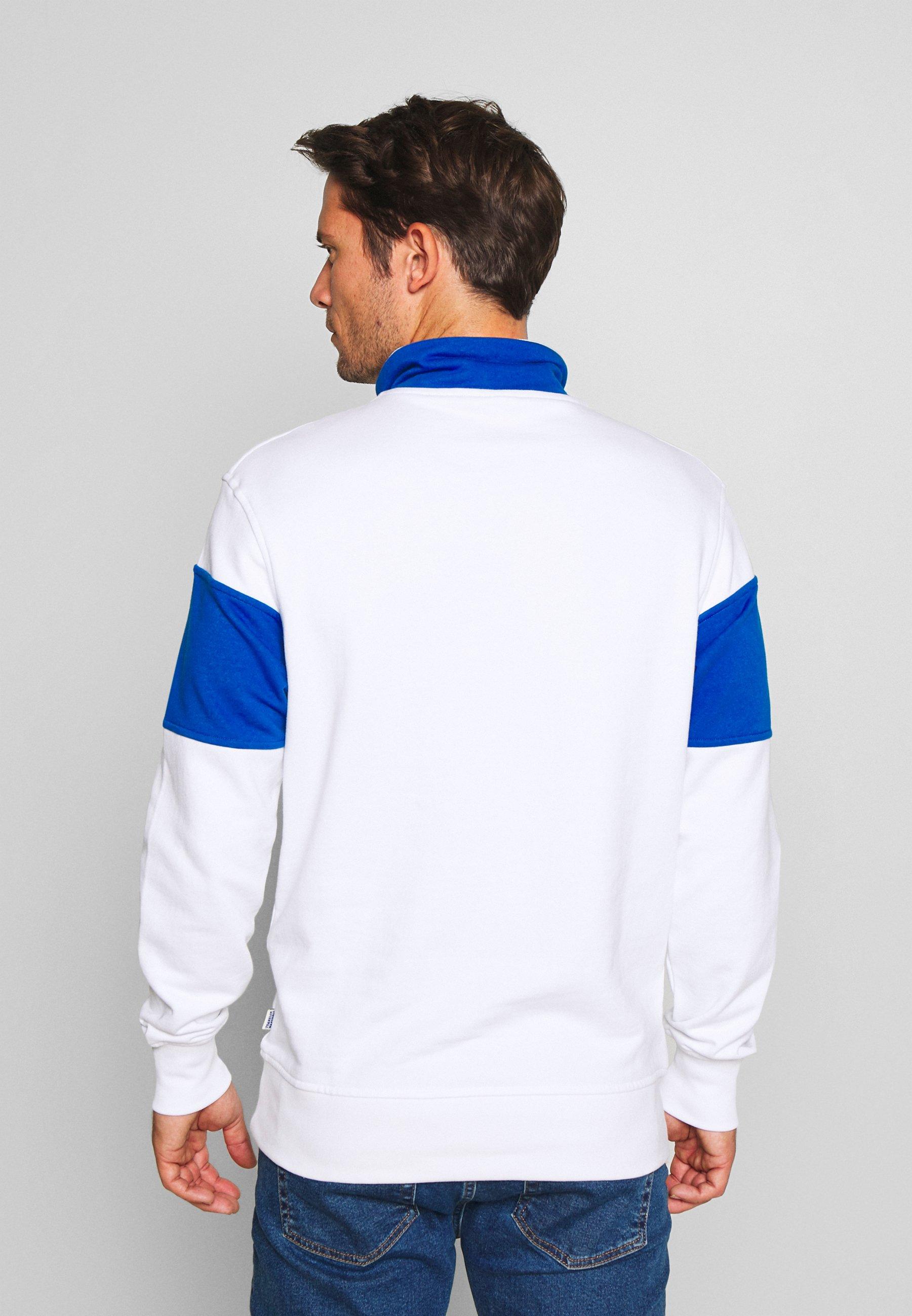 Franklin & Marshall Sweatshirt - block color white