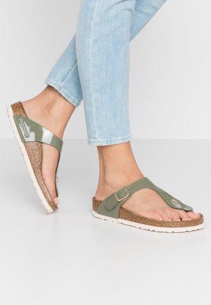 GIZEH - Slippers - khaki