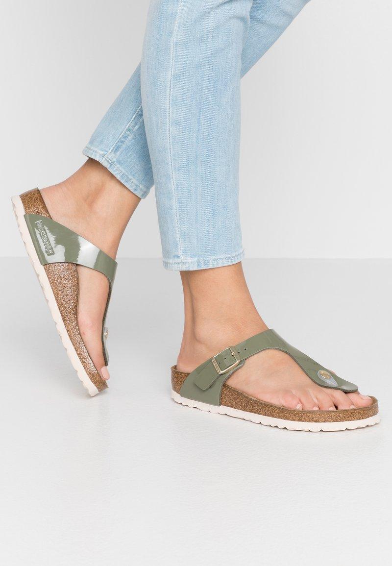 Birkenstock - GIZEH - Slippers - khaki