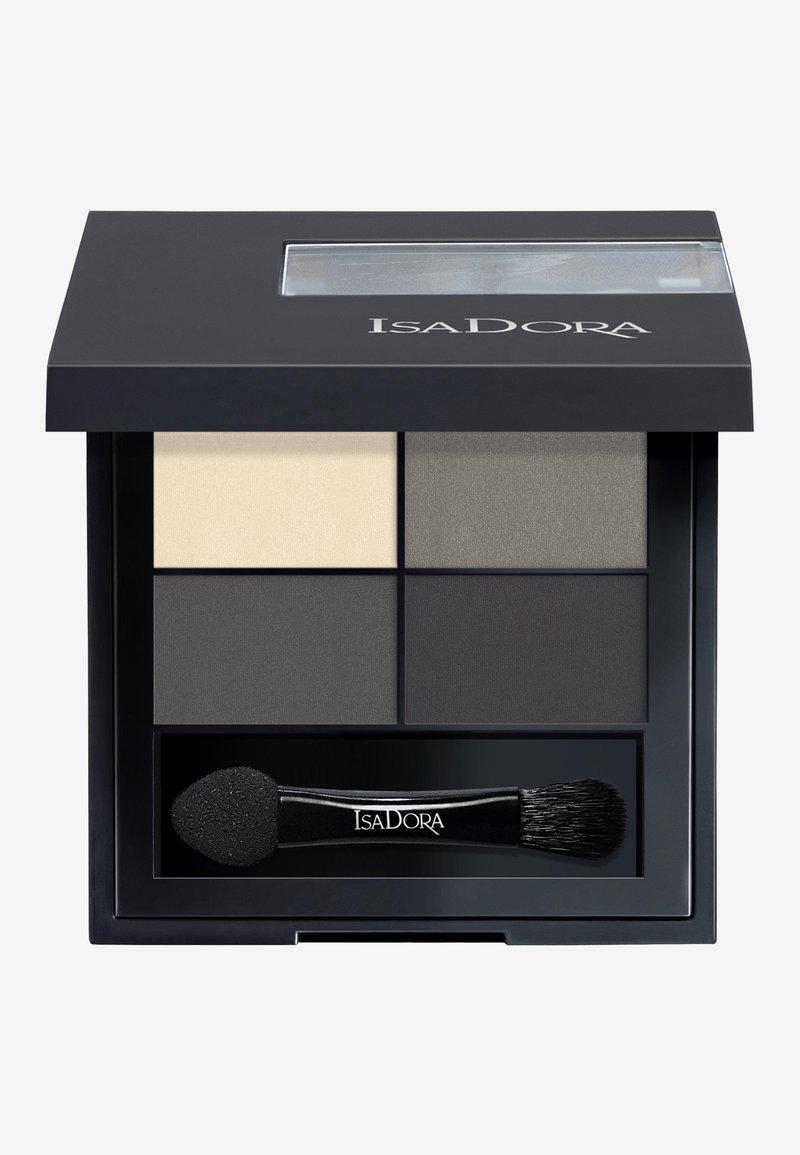 IsaDora - EYESHADOW QUARTET - Eyeshadow palette - smoky eyes