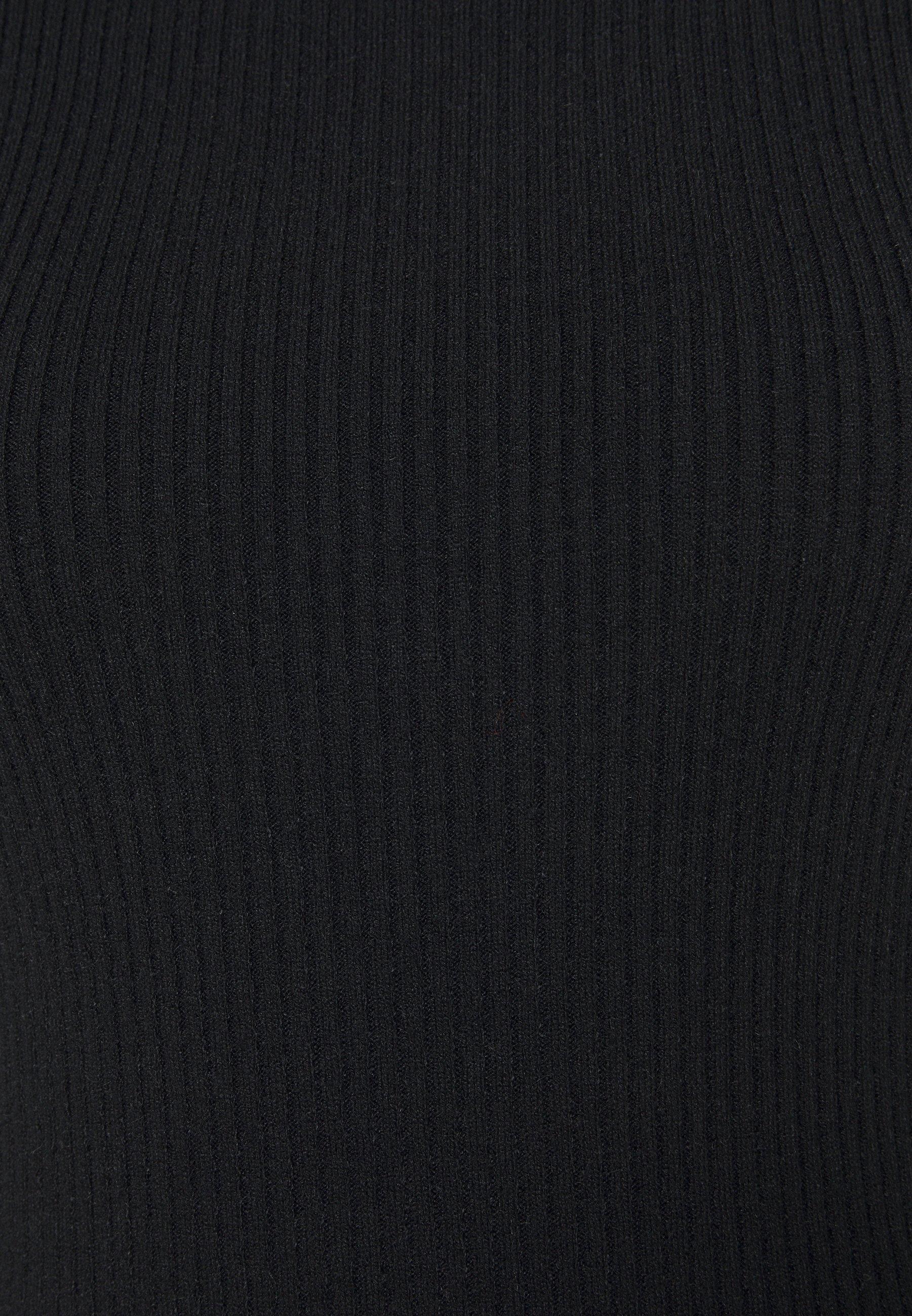 Cotton On TAHLIA TRUE MINI DRESS Strickkleid black/schwarz