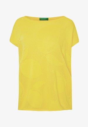 T-shirts print - yellow