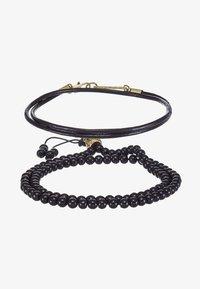 NOMINATION COMBO SET - Bracelet - black