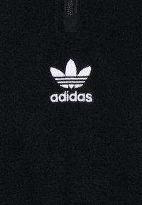 adidas Originals - TREFOIL - Fleece jumper - black - 2