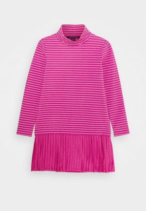 TURTLENECK DRESSES - Jersey dress - college pink