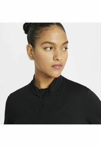 Nike Golf - Zip-up hoodie - black/white - 3
