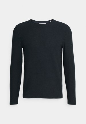 ROUND NECK AND HORIZO - Jumper - multi/scandinavian blue