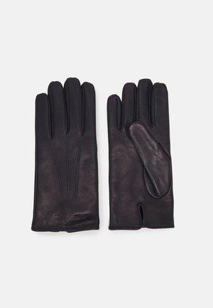 GUANTO CON BAGUETTE GLOVES UNISEX - Gloves - navy