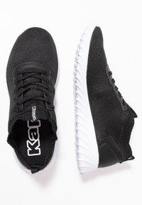 Kappa - MEMNI - Kuntoilukengät - black/white - 1