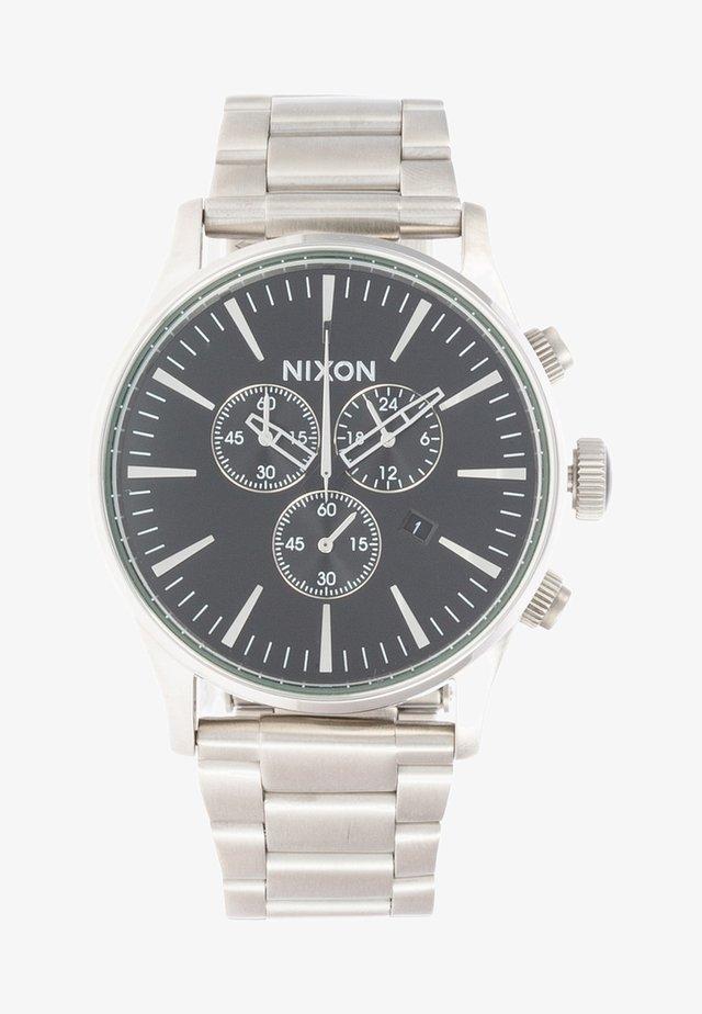 SENTRY  - Chronograph watch - black