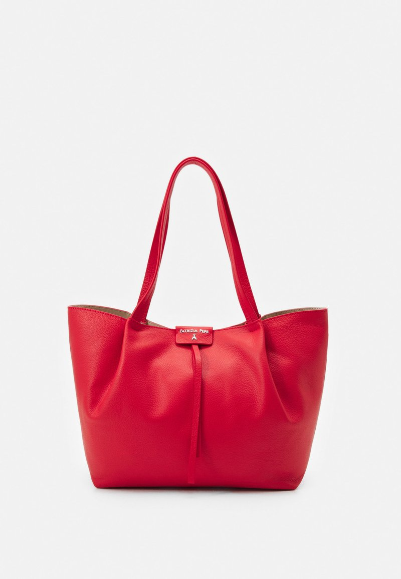 Patrizia Pepe - BORSA BAG SET - Handtas - lipstick red