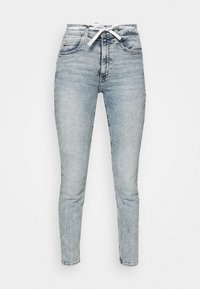 Calvin Klein Jeans - HIGH RISE - Skinny džíny - denim light - 4
