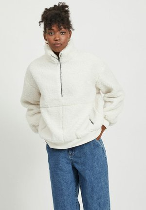 TEDDY - Fleece jumper - gardenia