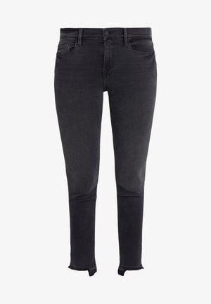 DE JEANNE CROP RELEASED CUT HEM - Jeans Skinny Fit - micoy