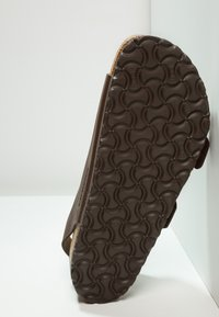 Birkenstock - MILANO - Sandals - dark brown - 4