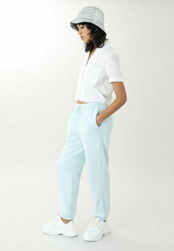 Button-down blouse - altweiß