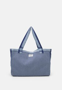 LARGE SIGNATURE - Tote bag - twilight blue
