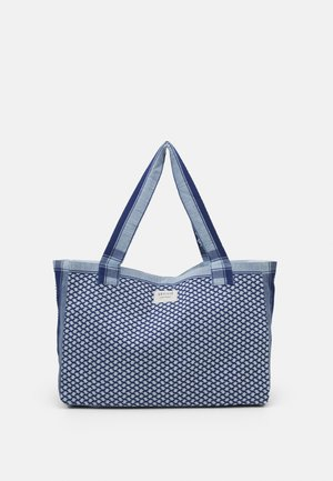 BAG LARGE SIGNATURE - Velká kabelka - twilight blue