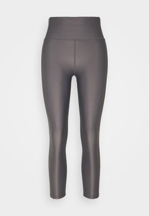 HIGH SHINE 7/8 WORKOUT LEGGINGS - Tights - moonrock purple