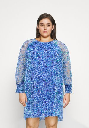 VMDICTE SHORT DRESS  - Day dress - dazzling blue/dichte