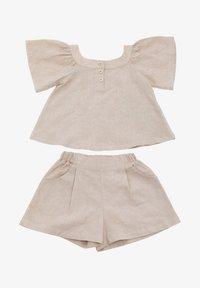 Rora - SET - Shorts - beige - 4